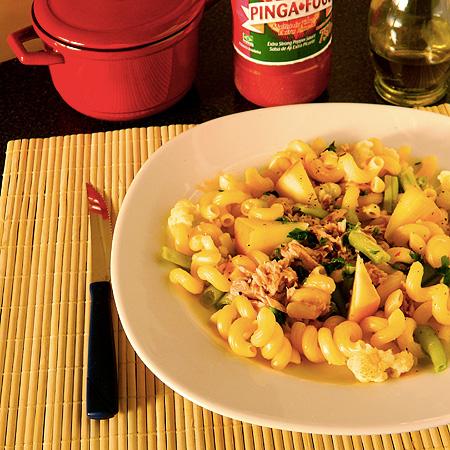 Salada Picante de Macarrão