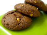 Cookies de chocolate e baunilha