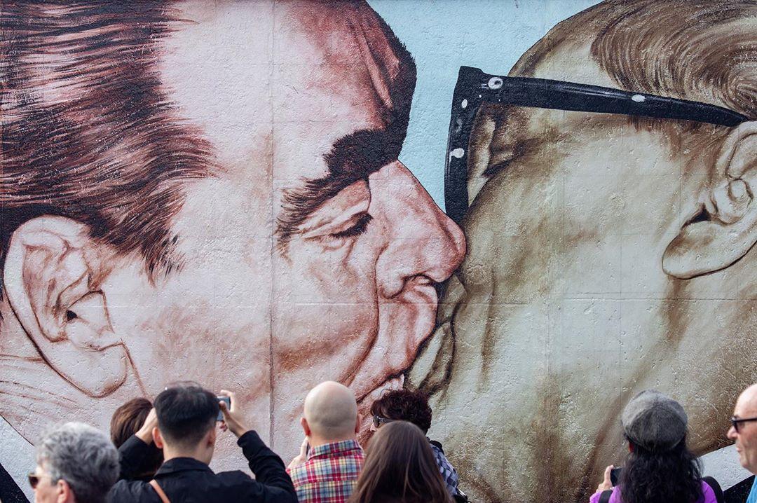 30 anos da queda do Muro de Berlim.