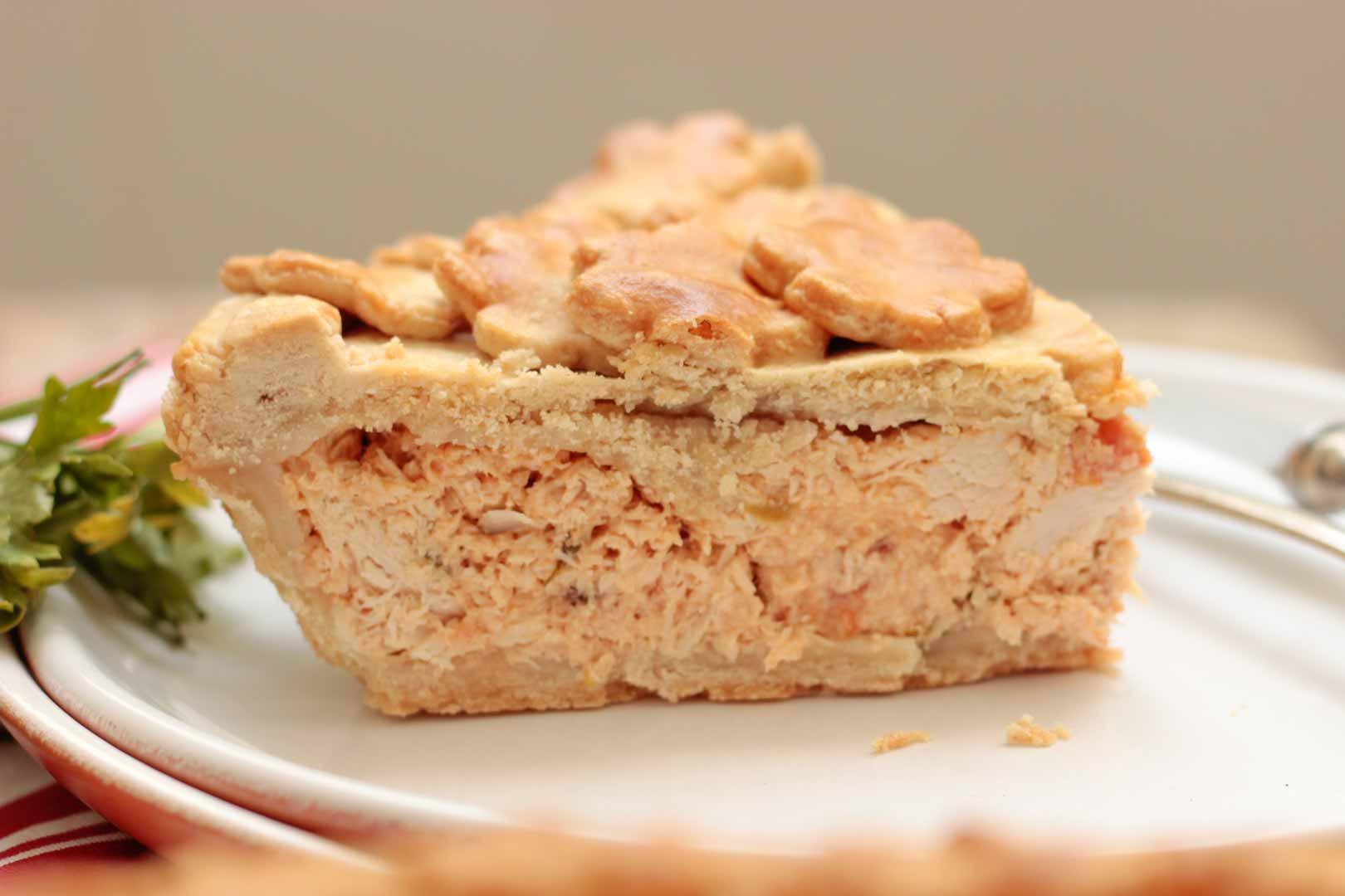 Trota básica de torta de frango